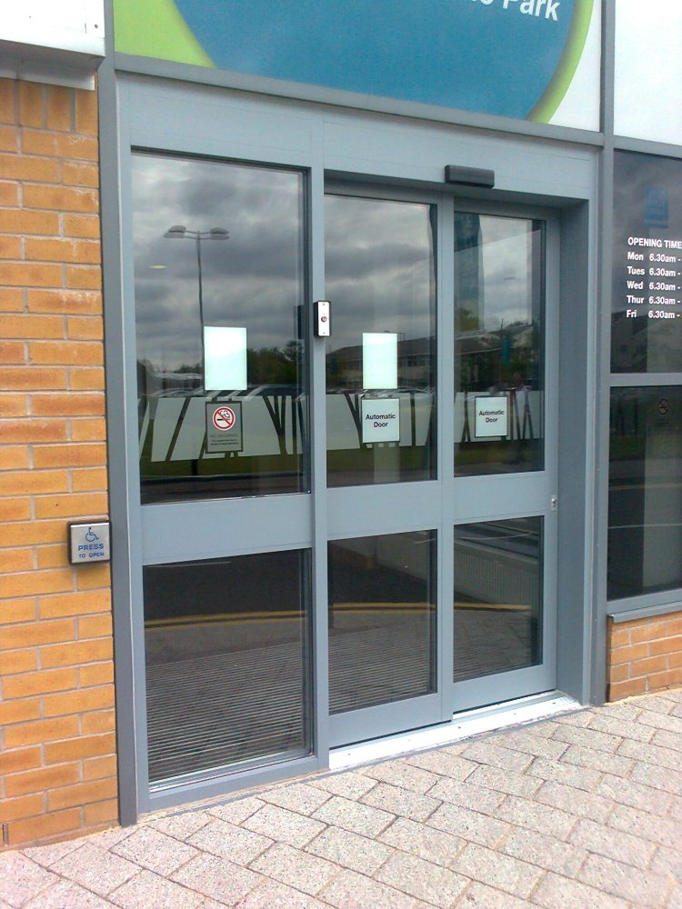Dda Compliant Automatic Doors Jpf Systems